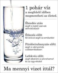 Ez történt, amikor rászoktam a napi 4 liter vízre