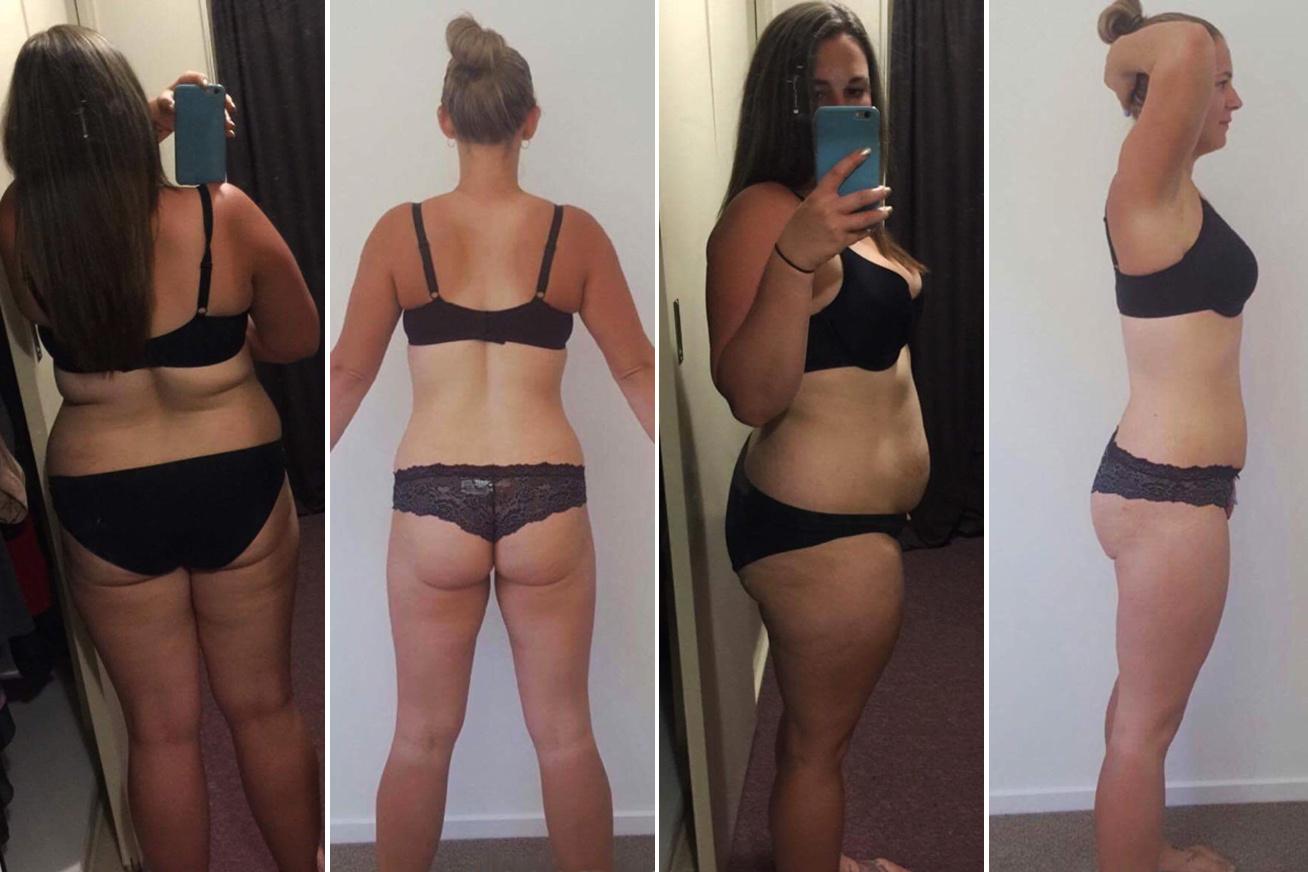 1 hónapos zsírégetési átalakulás