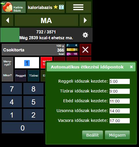 zabpehely kalóriabázis)