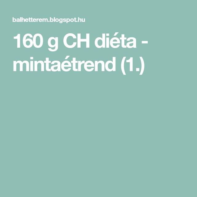 160 grammos szénhidrátdiéta 2. rész