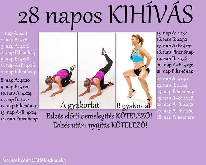 10 napos karcsúsító kihívás)