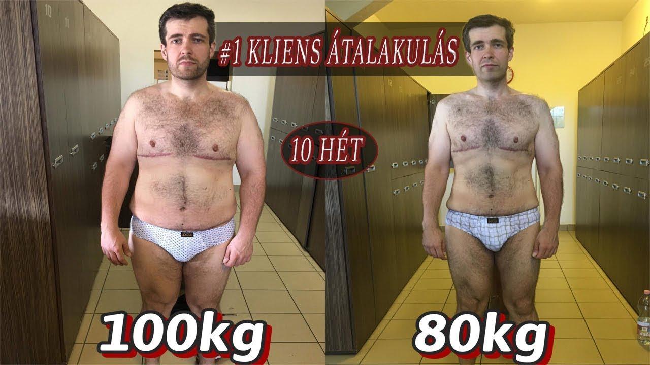 22 kg súlycsökkenés 2 hónap alatt)