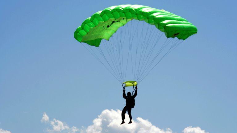 lefogy az ejtőernyőzés?