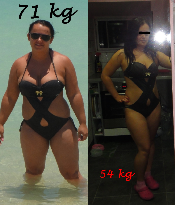 25 kg súlycsökkenés 5 hónap alatt)