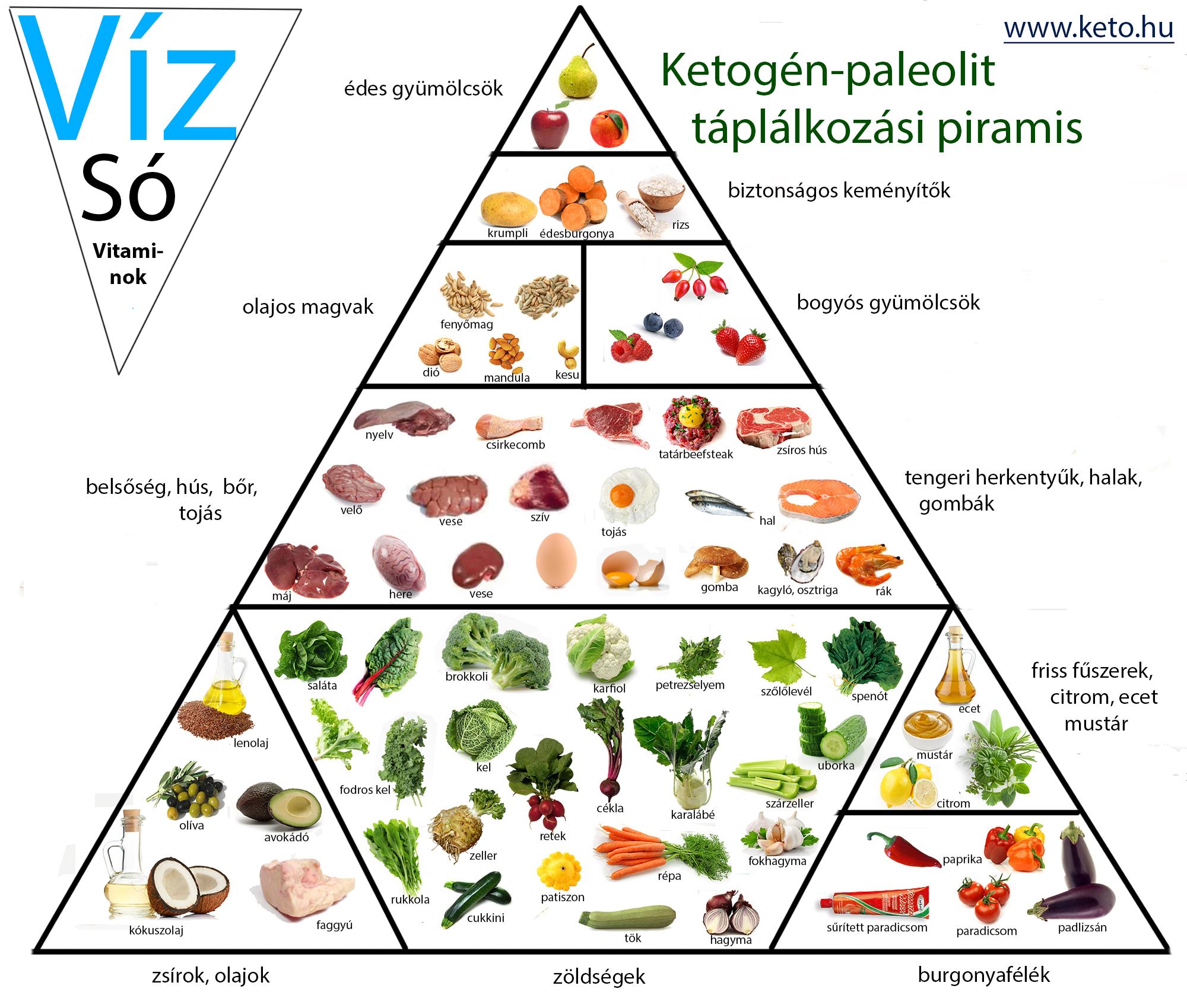 paleo diéta mintaétrend
