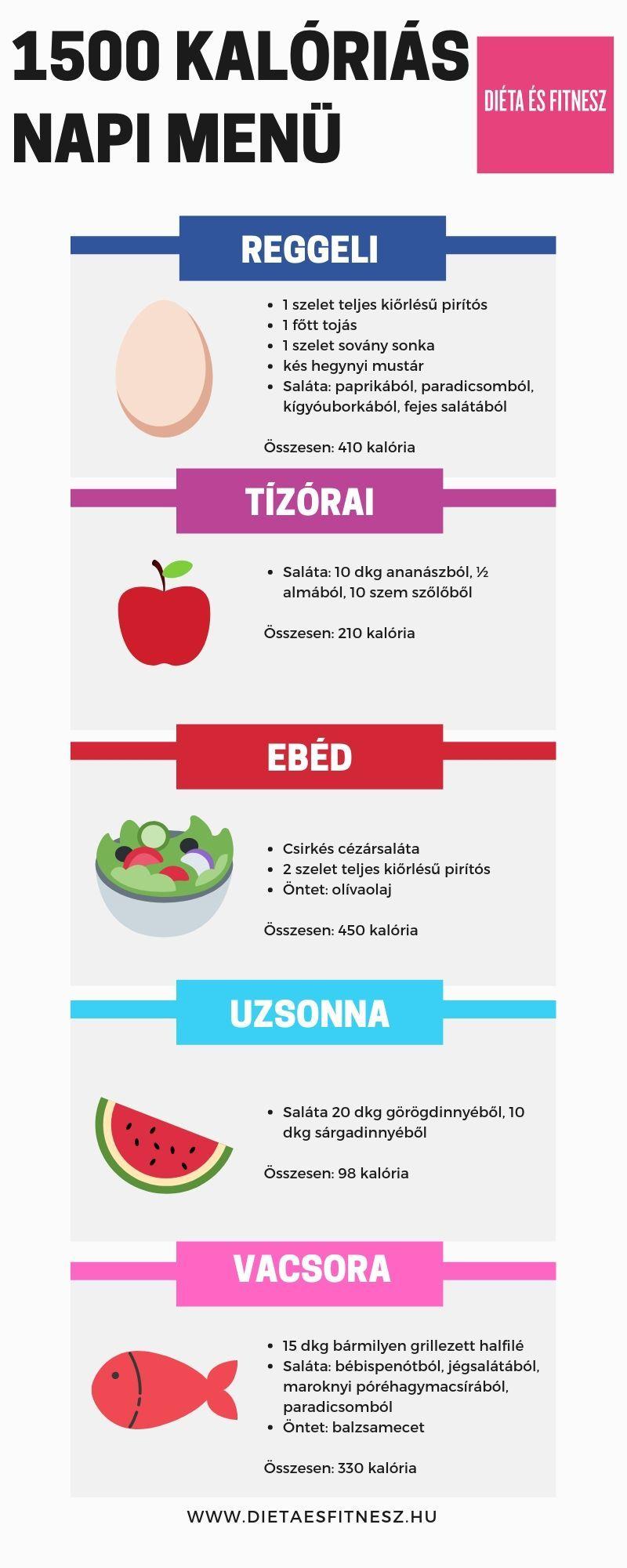 fogyás napi kalória)