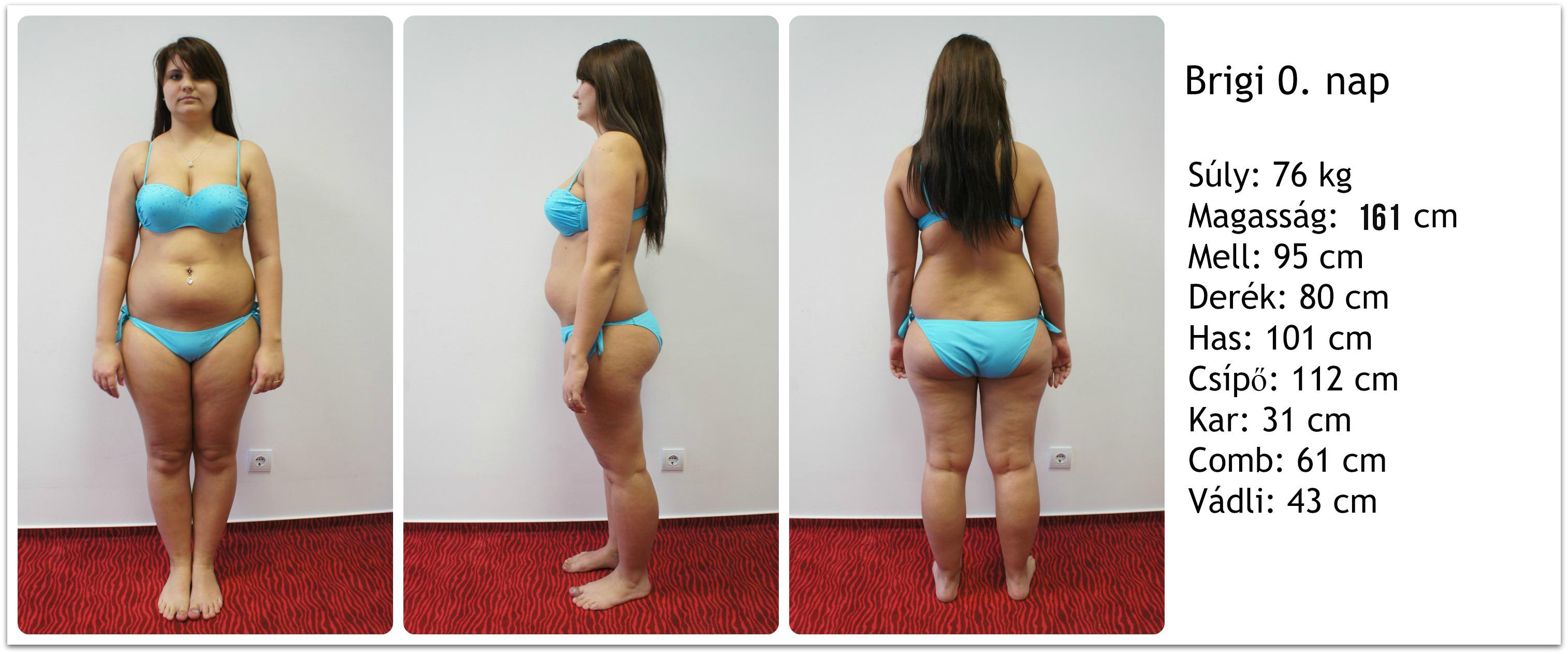 Fogyás eredmények 5 hónap)