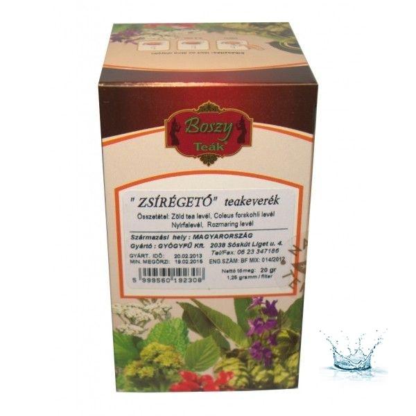 zsírégető tea tapasztalatok