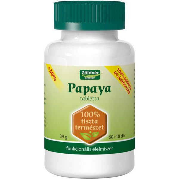 Papaya enzimek segíthetnek a fogyásban