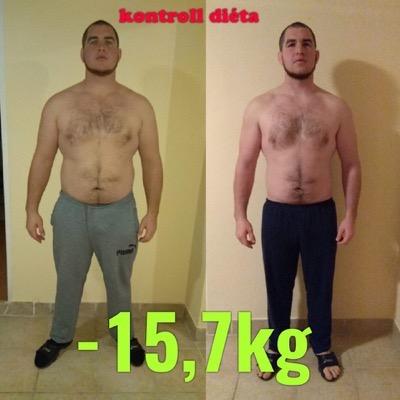 fogyás 15 kg)