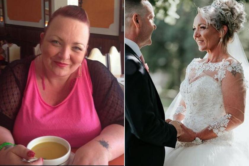 Menyasszonyok fogyás előtt és után - Fogyókúra | Femina