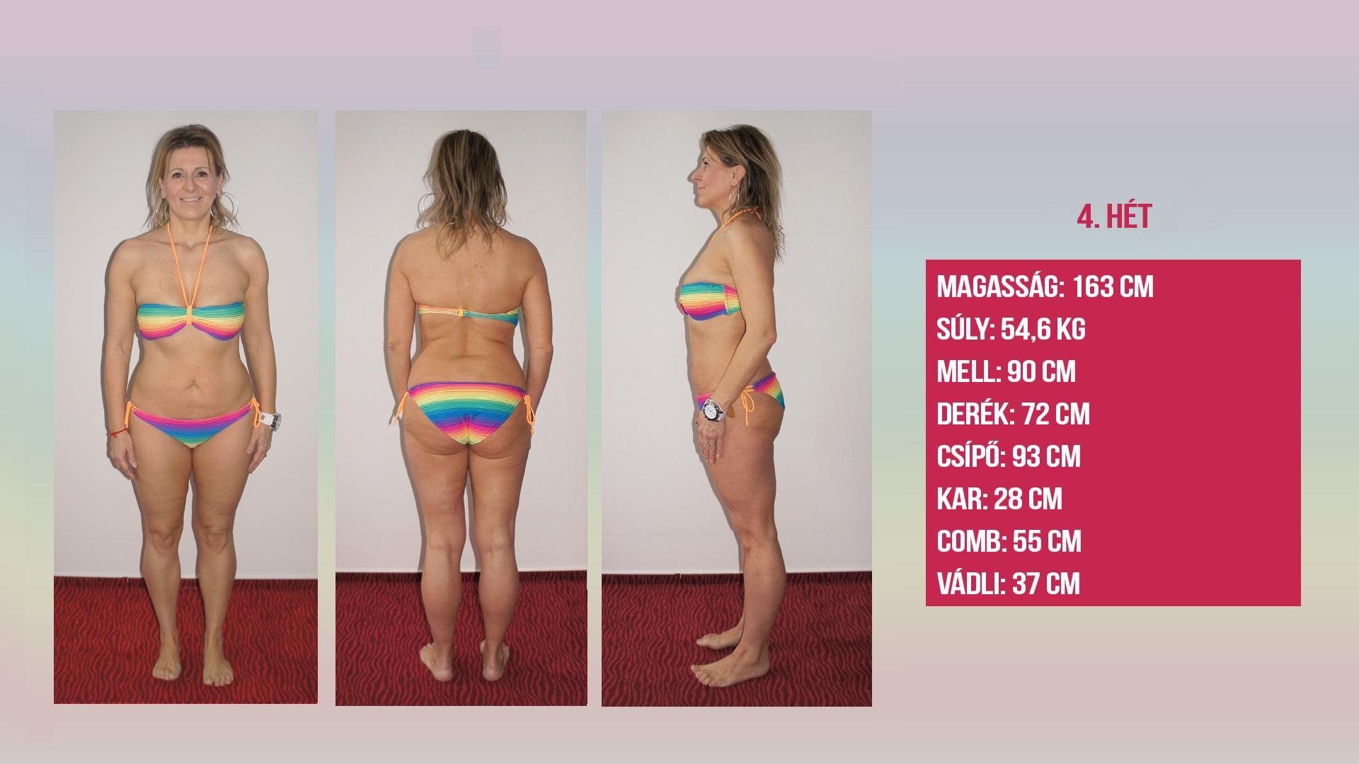 45 éves nő fogyás