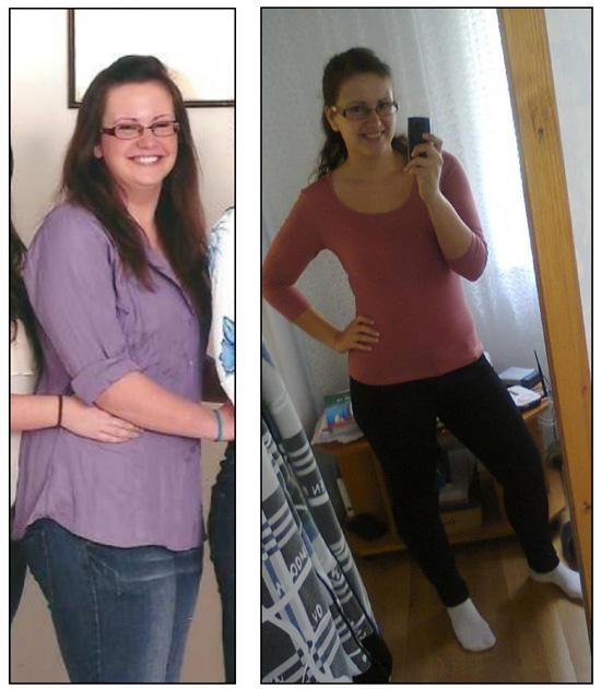fogyás 23 éves nő