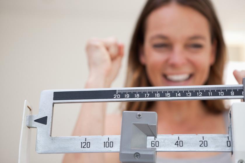 súlycsökkenés kilométerben nem kilóban