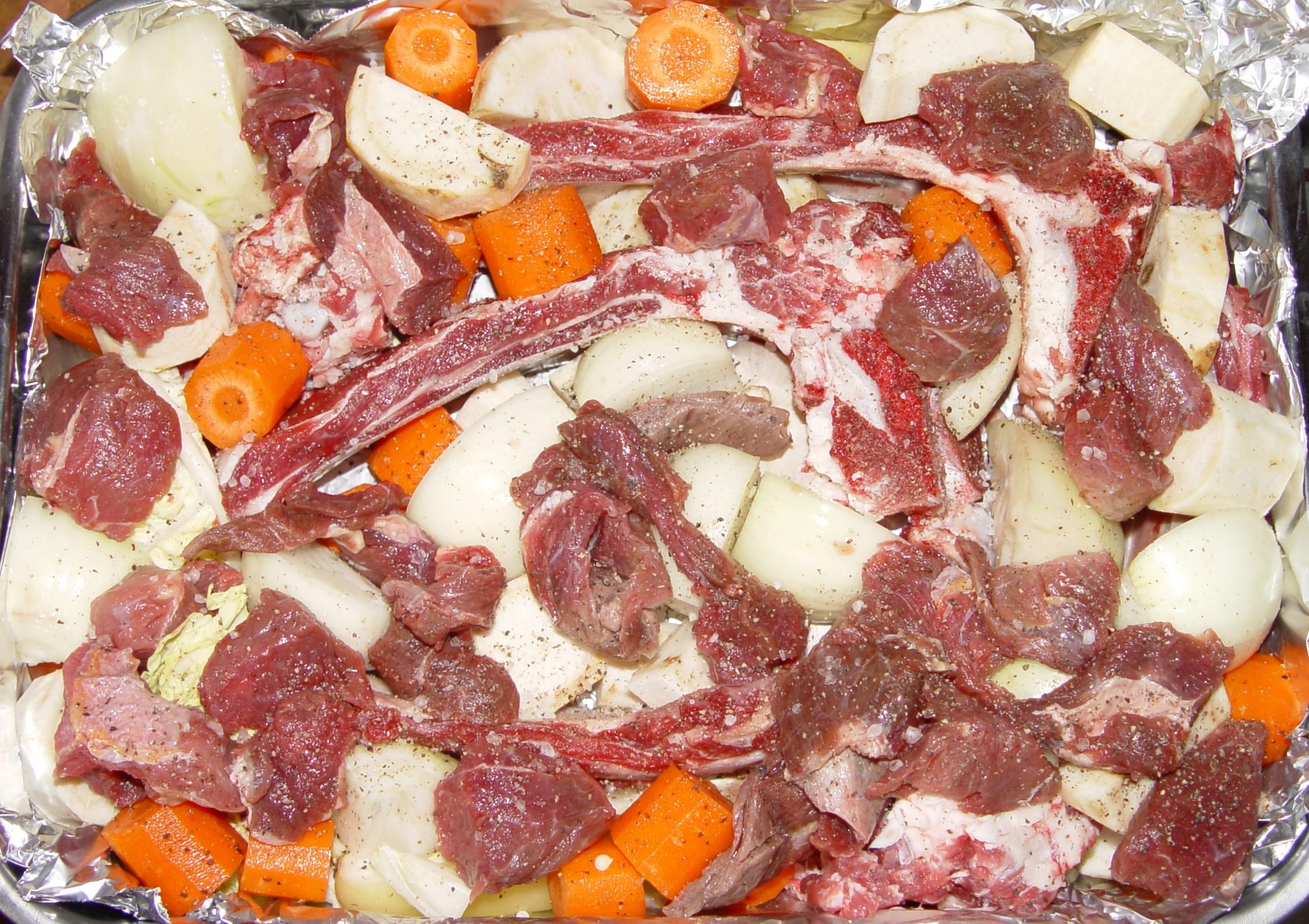 A marhahús jó a zsírtalanításhoz)