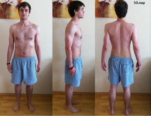férfi fogyás mintája)
