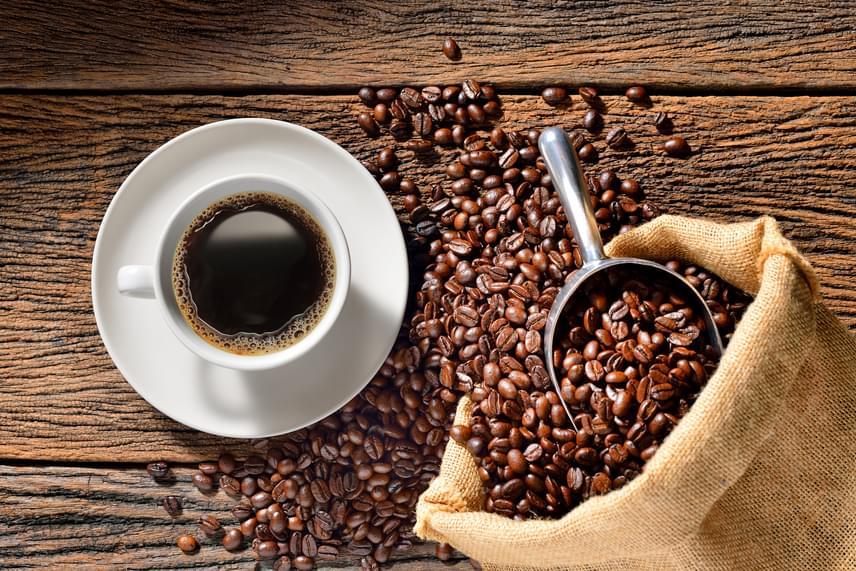 kávéval fogyás)