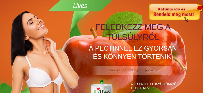 fogyás almával