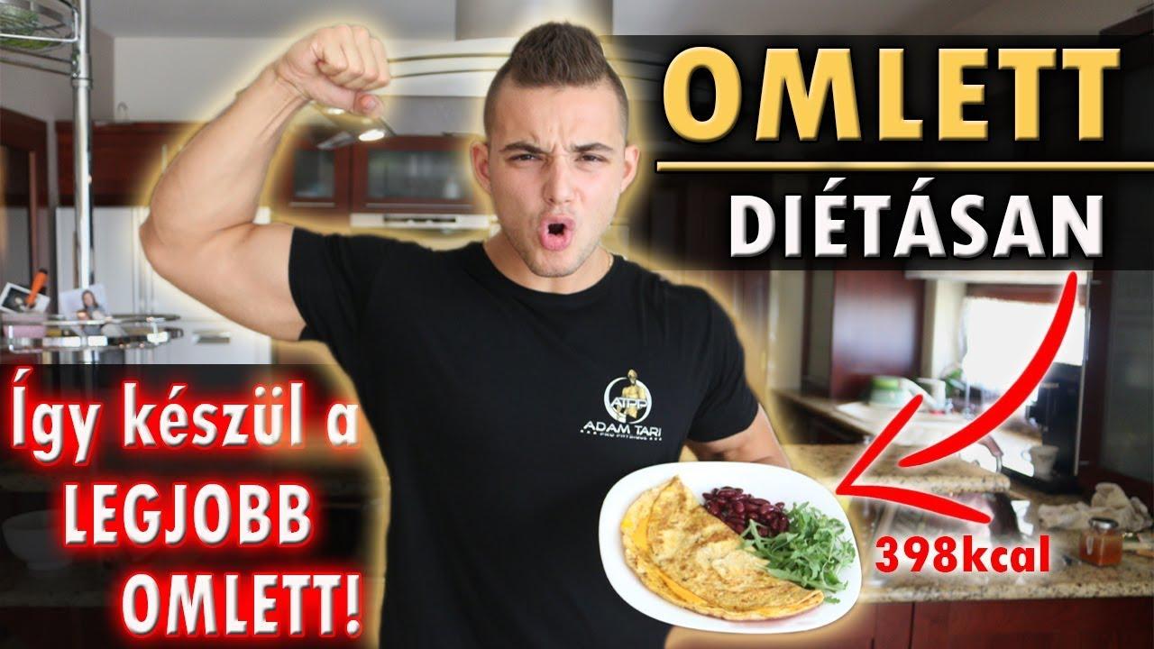 fogyni omlett)