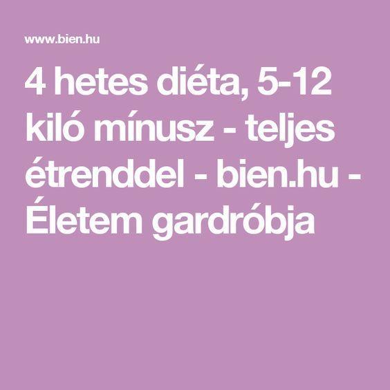 4 hetes diéta étrend)