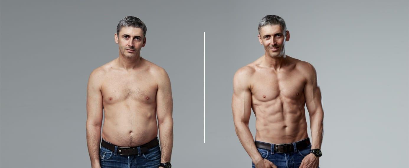 meddig veszíti el a testzsír százalékát