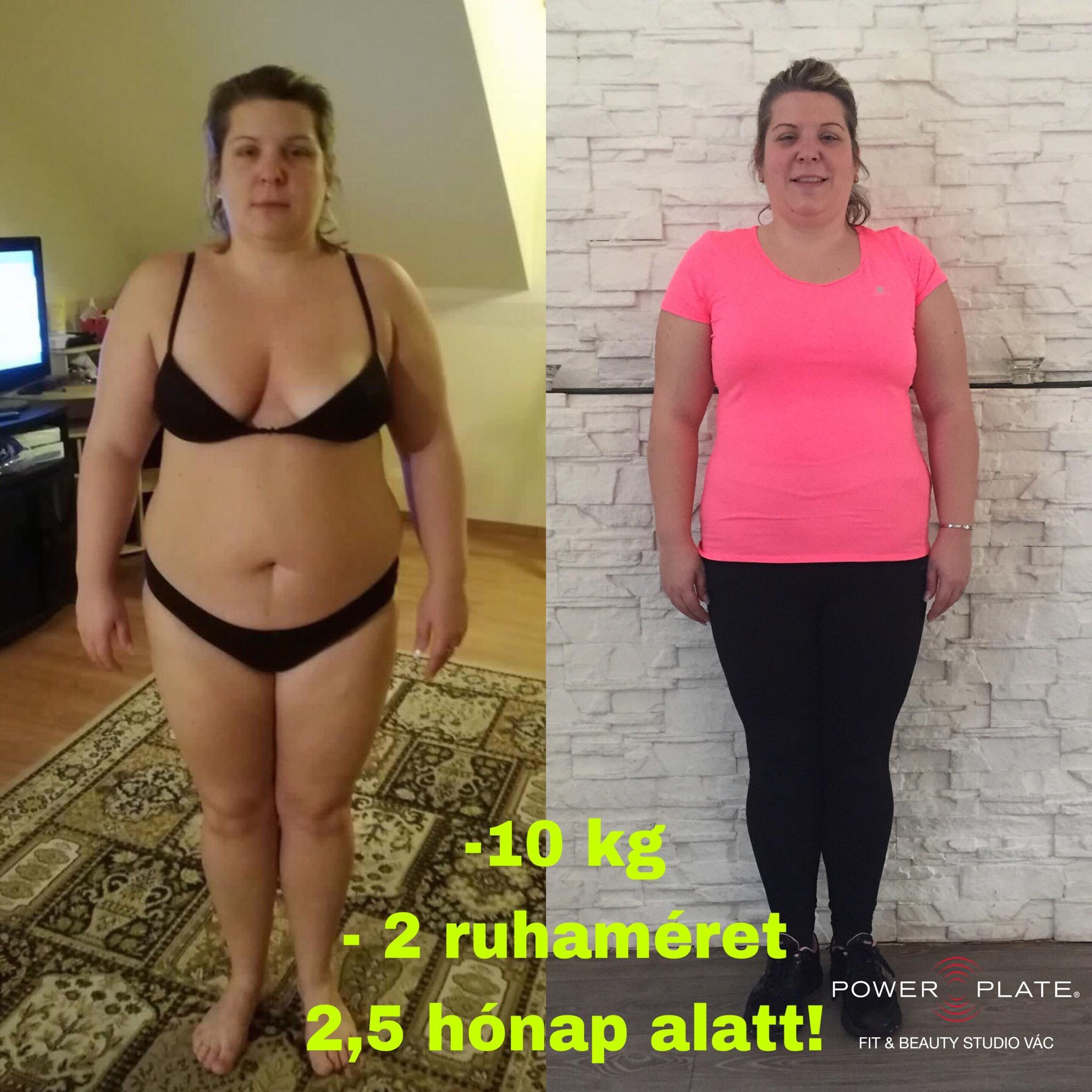1 kg súlycsökkenés egy hónap alatt