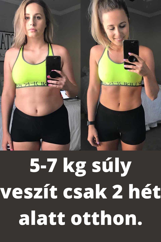 7 kiló fogyás