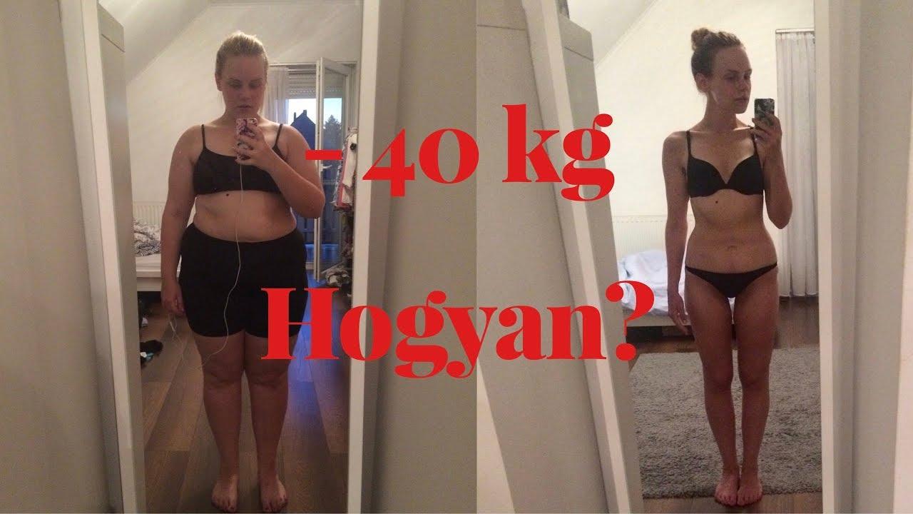 hogyan fogytam le 40 kg