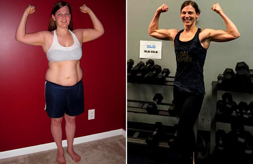 8 kg fogyás egy hónap alatt