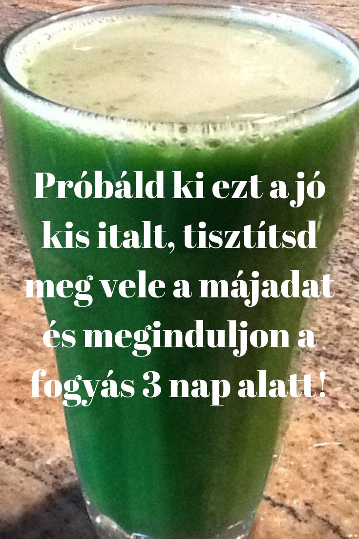 fogyi ital házilag