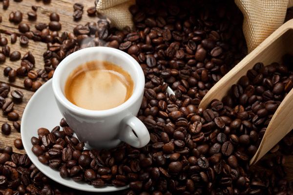 veszteség kávét