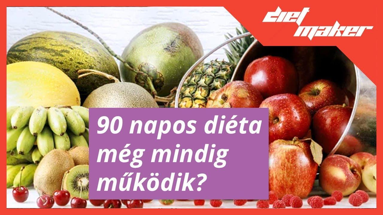 90 napos szétválasztó diéta