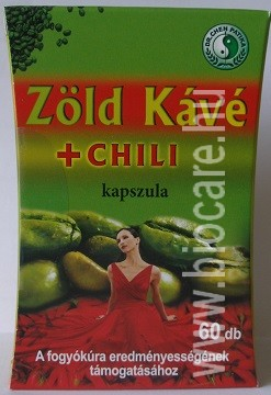 zöld kávé chili kapszula tapasztalatok