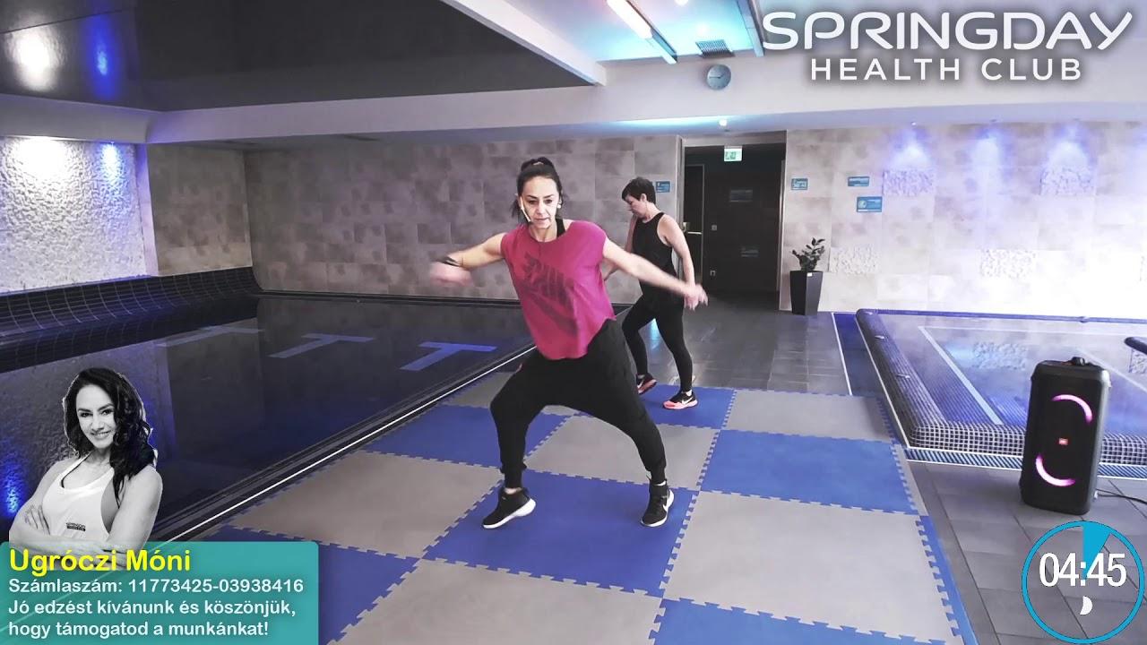 zsírégető aerobik edzés