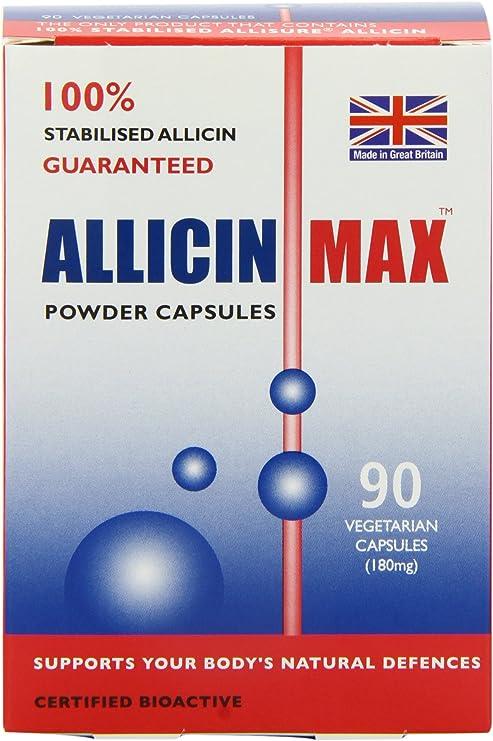 allicin max fogyás