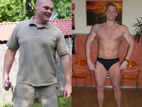 férfi fogyás mintája