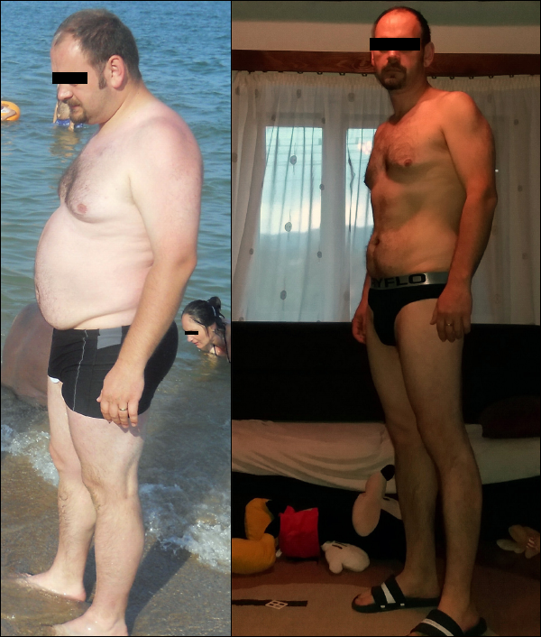 fogyás 33 éves férfi