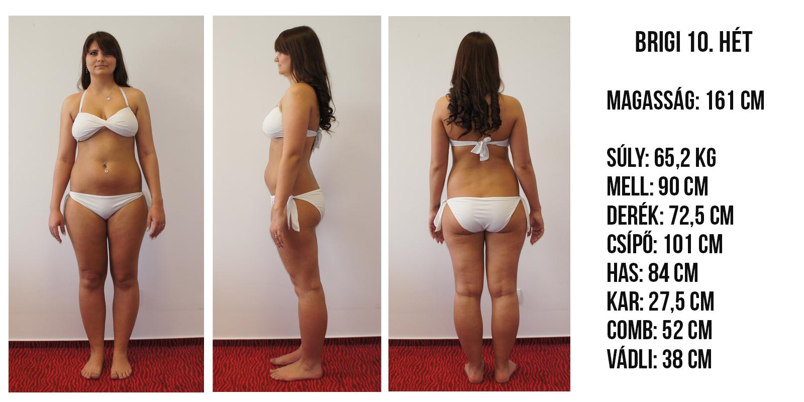 fogyás 87 kg- os nők számára