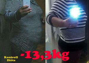annyi súlyt veszít 3 hét alatt)