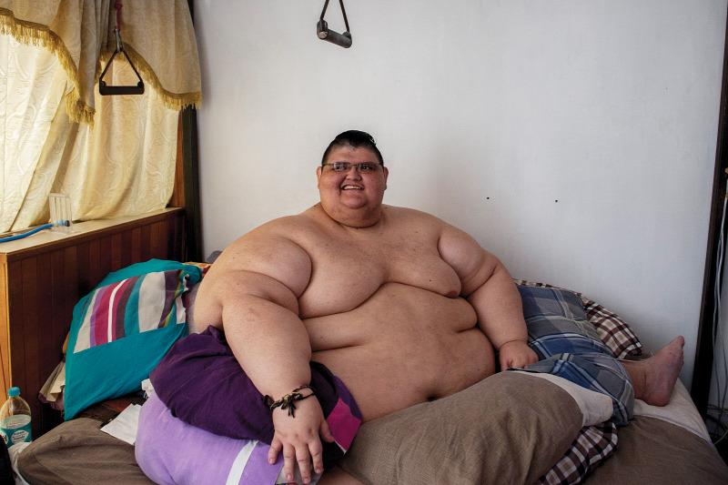 Az az álma, hogy ő legyen a világ legkövérebb nője
