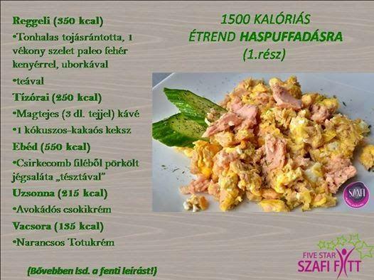 étrend 1500 kalória