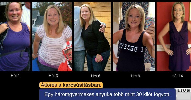 egy hét zsírégetés)