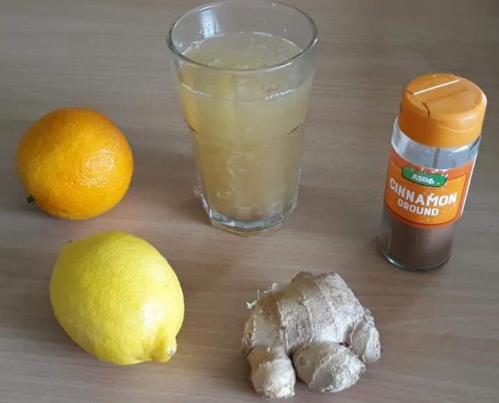 zsírégető ital citrom