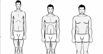3 testtípus fogyás